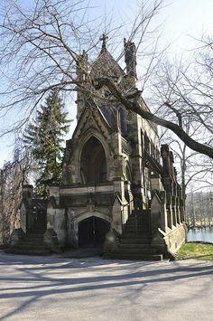 chapel at spring grove cemetery, cincinnati, ohio