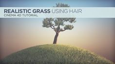 In this tutorial, Chris shows you how to make realistic looking grass using Cinema 4D Hair. Read the full tutorial, here: http://greyscalegorilla.com/blog/?p=12936