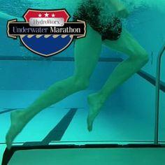 First ever Hydroworx Underwater Marathon 2012!