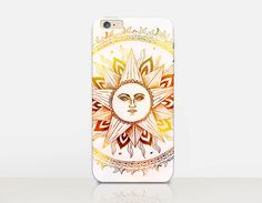Sun Mandala Phone Case For  iPhone 6 Case  iPhone 5 by CRCases