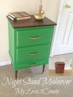 MyLove2Create, Night Stand Makeover