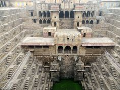 The Chand Baori stepwell is one of Rajasthan's most impressive and important landmarks, sa...