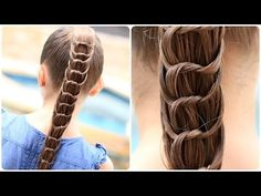 Nice way to mix up a ponytail! How to Create a Knotted Ponytail by CuteGirlsHairstyles #cutegirlshairstyles #CGHKnottedPonytail #ponytail #hairstyles #hairstyle