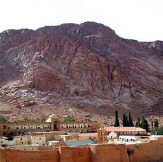 Mount Sinai, where Moses met with God and received the Ten Commandments