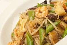 Phad Thai with Noodles.   http://cindyduffield-cookingthebooks.co.uk/phad-thai-noodles-seafood/