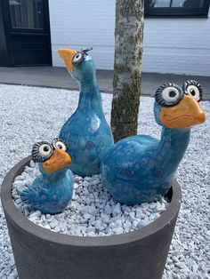 Happy blue birds - keramik ideen - - My list of best Diy and Crafts
