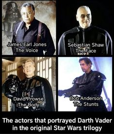 Star Wars Jokes, Star Wars Facts, Bob Anderson, Earl Jones, Lord, Original Trilogy, Star War 3, Best Funny Pictures, Funny Star Wars Pictures