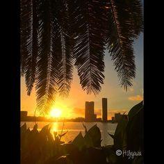 【hiro_works62】さんのInstagramをピンしています。 《Day Trip:台風一過…昨日はきれいな夕焼けでした(#香椎海岸/#福岡)/#Fukuoka  #iPhone #instagram  #jogging#photooftheday#ビーチ#beach#海#sea#風景#landscape#写真#photo#running#香椎宮#shrine#seaside#海#sea#island#夕日#sunset#beautiful#wonderful#博多湾#hakata#bay#日本#japan》