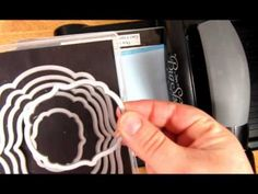 Flip Flop Framelits Cloud Card Tutorial - Pinned by Colleen Hastings - Independent Stampin' UP! Flip Cards, Fun Fold Cards, Pop Up Cards, Folded Cards, Card Making Tips, Card Making Tutorials, Card Making Techniques, Making Ideas, Plotter Cutter