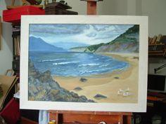 Buggeru, Sardegna. Oil on canvas 2013