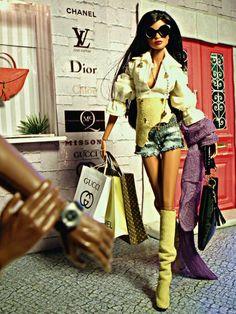 .Designer doll Dior Louis Vuitton Gucci #MRSBITTERCHEF (Pinners)