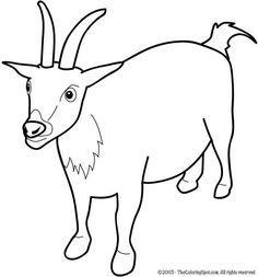 Goat Clip Art 13423