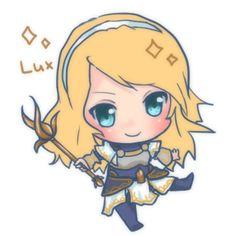 Chibi Lux! She's so cuuute!