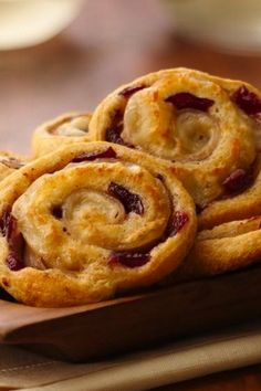 Must-try Crescent pinwheel appetizer with classic turkey and cranberry combo!