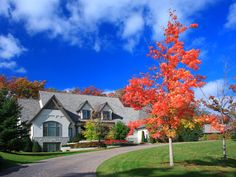 Homes.com- Getting prepared for fall. What maintenance projects do you need to take care of before it gets cold? Get the tips from our friends on Hometalk at blog.homes.com Landscape Services, Landscape Plans, Landscape Design, Landscape Maintenance, Lawn Maintenance, Home Staging Tips, Selling Your House, Real Estate Tips, Lawn Care