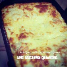 #lasagna #bechamelsauce #aghkitchen