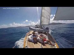 The Dove: Privately Crewed 54' Charter Yacht Sailing in the Caribbean Islands!