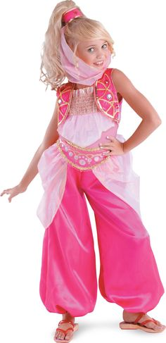 costume ideas - i like the pants - Genie...This would be so cute for Andi next yr at Halloween!