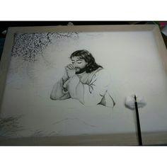 기도하시는 예수님12호  그리다가 올려요^^