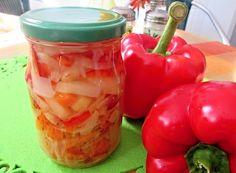Zavařujeme (sterilujeme), nakládáme zeleninu - ty nejlepší recepty na zpracování zeleniny na jednom místě!   ReceptyOnLine.cz - kuchařka, recepty a inspirace Preserves, Pickles, Salads, Stuffed Peppers, Homemade, Canning, Vegetables, Food, Design