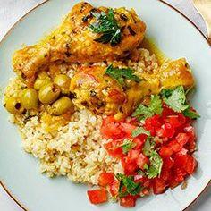 Podudzia kurczaka po marokańsku