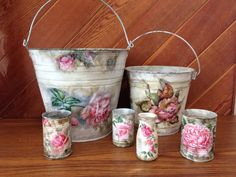 Tins and roses