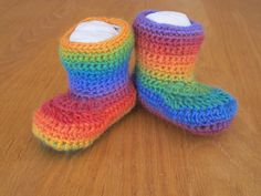 Now on sale in my Etsy store  https://www.etsy.com/listing/97704999/intense-rainbow-mismatched-crocheted?listing_id=97704999_slug=intense-rainbow-mismatched-crocheted=pr_shop