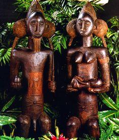 Legendary African Fertility Statues