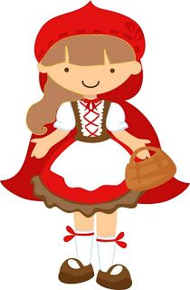 Little Red Riding Hood - Complete Kit with frames for invitations, labels for goodies, souvenirs and pictures!