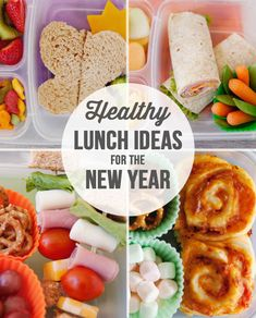 Fresh, healthy lunch ideas for the New Year!