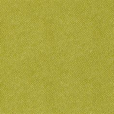 Durable green texture!  Abacos Ray textured vinyl wallcovering in Green from Texture Resource Volume 3 by #Thibaut    #green #texture #vinyl #stingray #shagreen #wallcovering