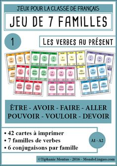 French Lessons, English Lessons, Classroom Arrangement, French Worksheets, French Verbs, Core French, French Expressions, French Classroom, French Resources