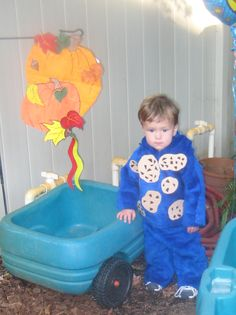 DIY Cookie Monster Costume! Looks pretty easy! :)