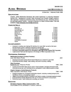 resume computer skills section example