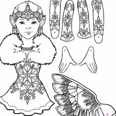 Fairy Make Your Own & COLOR!