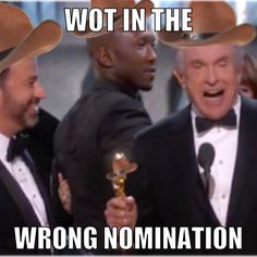 Wot in the wrong nomination