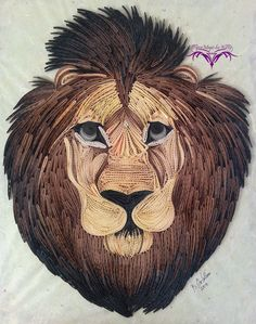 Quilling PaperMagic by Katty: Lion Zion