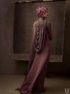 """Laura Dern by Annie Liebowitz as her """"Last Jedi""""character"""