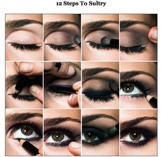sultry eye makeup