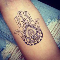 Ink. #inspo #Hamsa #tattoo #ink #boho #bohemian #bohostyle #potd #love