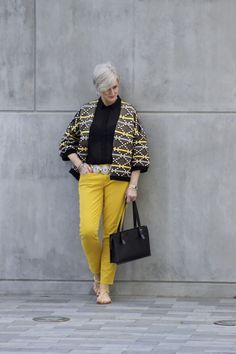 bold gold | Style at a certain age