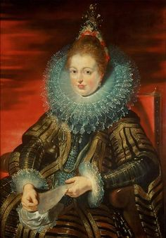Peter Paul Rubens -- Infanta Isabella Clara Eugenia, wife of Archduke Albrecht VII — Kunsthistorisches Museum Peter Paul Rubens, Kaiser Maximilian, Rubens Paintings, Kunsthistorisches Museum Wien, Archduke, Baroque Art, Isabelle, Oil Painting Reproductions, Costumes