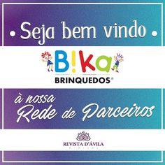 Mais uma nova empresa parceira seja bem vinda Bika Brinquedos à nossa Rede de Parceiros!