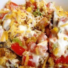 Cornbread Salad...had this today and it's soooo yummy!!