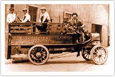Vintage #HVAC truck.