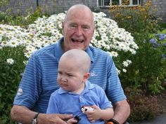 The nation's 41st president, age 89, got the idea to go bald when he noticed that members of his detail had also shaved their heads in solidarity with the boy. The leukemia patient is the son of a member of the former president's Secret Service detail, Bush's office announced. George and Barbara Bush, the parents of President George W. Bush, lost their infant daughter Robin to leukemia 60 years ago this October.