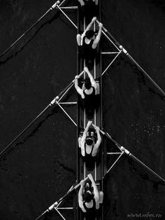 (via ♂ Black ✚ White / rowing)