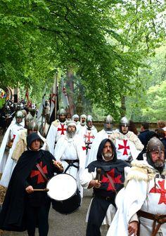 Reenactment: Knights Templar, the Order of Solomon's Temple