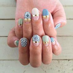 50 Trendy Fall Nail Art Design For 2019 Nail Art nail art gel paint Hot Nail Designs, Fall Nail Art Designs, Colorful Nail Designs, Gel Nail Art, Easy Nail Art, Nail Nail, Hot Nails, Hair And Nails, Uñas Diy
