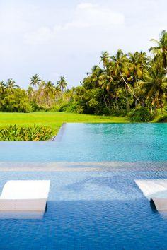 The brilliant Infinity Pool #AlilaDiwaGoa #Vacation #Holiday #Outdoors #Goa